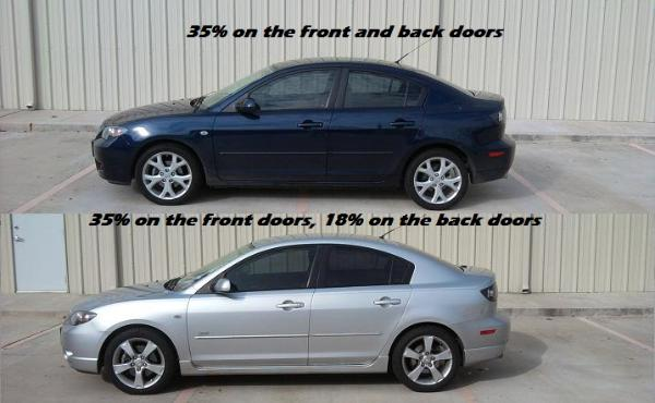 Window Tint Shades http://kingwoodtint.com/shades.html